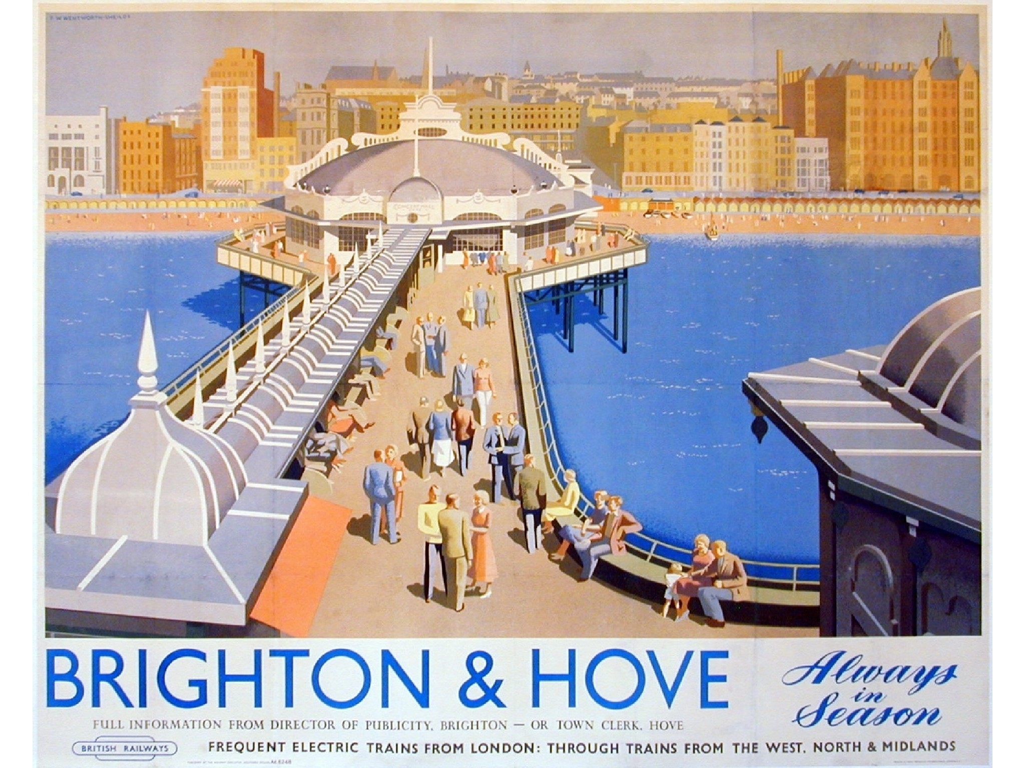 Where Old british railways posters thought
